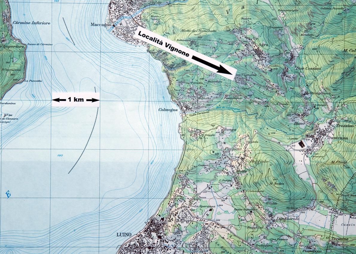 Karte Lago Maggiore Und Umgebung.Landschaft Vignone Und Umgebung Ferien Am Lago Maggiore